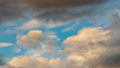 Golden clouds, dark thunderclouds floating sky 55081880
