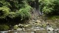 白蛇の滝をバックに十曽川 55082189