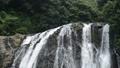森をバックに龍門滝の上部 55082199
