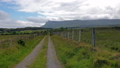 "Typical Irish landscape with the Ben Bulben mountain called ""table mountain"" for its particular 55224287"
