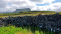 "Typical Irish landscape with the Ben Bulben mountain called ""table mountain"" for its particular 55224289"
