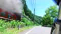 磐越西線SLばんえつ物語号を走行するバイクから撮影 55287738