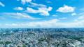 美しい 東京風景 タイムラプス 2019 夏 ワイド 高輪ゲートウエイを望む都市風景 fix 55306219
