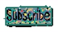 Subscribe button colored hand drawn 2d animation,  55413495
