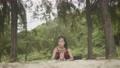 Asian woman practicing yoga 55593558