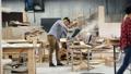 ウッド 木材 作業場の動画 55596951