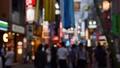 夜の東京 スクランブル交差点付近 渋谷センター街 七夕飾り 55697743