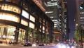 市區東京丸之內時間推移傾斜的夜視圖 55919380
