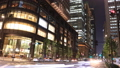 Night view of the downtown area Tokyo Marunouchi Time Lapse Fix 55919384