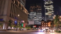 Night view of the downtown area of Tokyo Marunouchi Time Lapse Bread 55919536