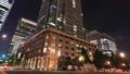 市區東京丸之內時間推移傾斜的夜視圖 55920247