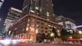 商業區東京丸之內時間推移縮小的夜景 55920250