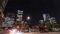 市區東京丸之內時間推移傾斜的夜視圖 55920269