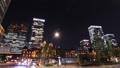 商業區東京丸之內時間推移縮小的夜景 55920271
