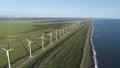オロロンラインの風車 ドローン空撮3 55937159
