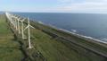 オロロンラインの風車 ドローン空撮1 55937161