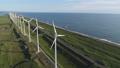 オロロンラインの風車 ドローン空撮5 55937197