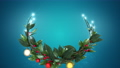 クリスマスリース_2_青 56012414