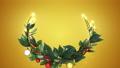 クリスマスリース_2_金 56012416