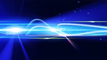 横切る光 タイトルエフェクト等 スクリーン合成用RGB255使用 青系カラフル 56401912