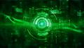 Hi-Tech HUD digital display holographic background 56643597