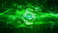 Hi-Tech HUD digital display holographic background 56643852