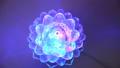 Multi-colored rotating lamp. Lotus lamp 56684484