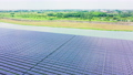 solar panels shot by drone 56708230