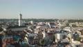 Aerial City Lviv, Ukraine. European City. Popular areas of the city. Town Hall 56715896