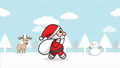 Christmas Santa Claus animation seamless loop 56736238