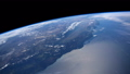 Planet Earth seen from the ISS. Space exploration of planet Earth at night. Elements of this video 56743393