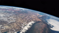 International Space Station - Circa January 2019: Planet Earth seen from the ISS. Space exploration 56743394
