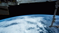 Planet Earth seen from the ISS. Space exploration of planet Earth at night. Elements of this video 56743397