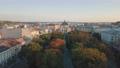 Aerial City Lviv, Ukraine. European City. Popular areas of the city. Lviv Opera 56749909