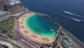 Aerial view of the Amadores beach, Gran Canaria 56789558