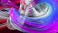 Abstract transparent ribbons in motion as seamless creative background. Colorful stripes twist in a 56814246