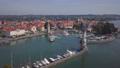 Aerial view of Lindau, Germany 56818353