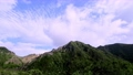 Clouds flowing through Nasu Asahidake 56819340