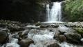 中園川の流れと坂口の滝 56836401