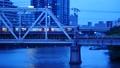 大阪環状線 淀川橋梁を渡る新型車両 56850988