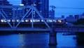 大阪環状線 淀川橋梁を渡る新型車両 56851024