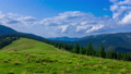 Mountain Landscape with a Fast Clouds  56851432