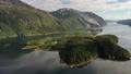Aerial footage Beautiful Nature Norway 56880106
