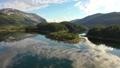 Aerial footage Beautiful Nature Norway 56880111