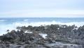 岩井崎 気仙沼 潮吹き岩 海 荒波 台風 57002651