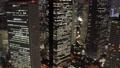 東京ナイト 新宿高層ビル群 トワイライト タイムラプス パン 57043919