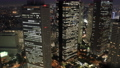 東京ナイト 新宿高層ビル群 トワイライト タイムラプス フィックス 57043922