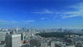 東京ランドスケイプ 青空の大都市 タイムラプス ティルトダウン 57045810