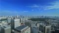 東京ランドスケイプ 青空の大都市 タイムラプス フィックス 57045816