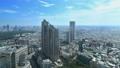 東京ランドスケイプ 新宿高層ビル街 明治神宮 タイムラプス ズームイン 57046446